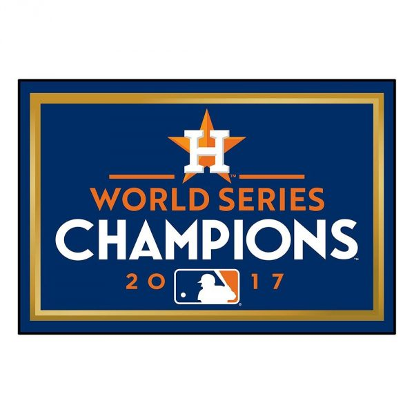 Houston Astros World Series Champions Rug