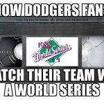 How the Dodgers Watch their team