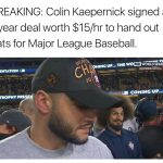 Kaepernick 15 bucks an hour