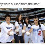 Kardashian DOdgers Curse