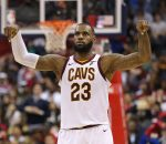 LeBron James 57 Points