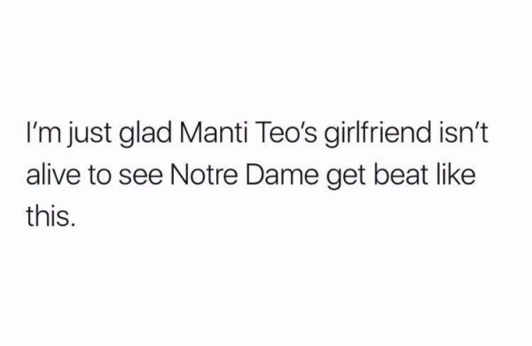 Manti Teo's Girlfriend Meme