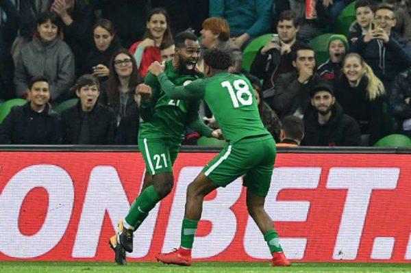 Nigeria beat Argentina