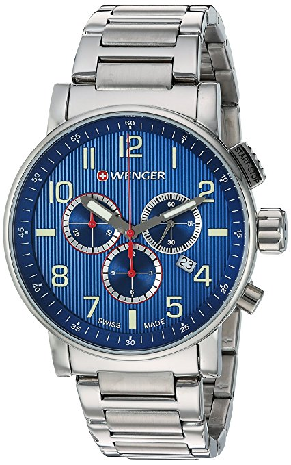 Wenger 'Attitude Chrono' Men's Watch