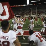 Baker Mayfield Flag Ohio State Game