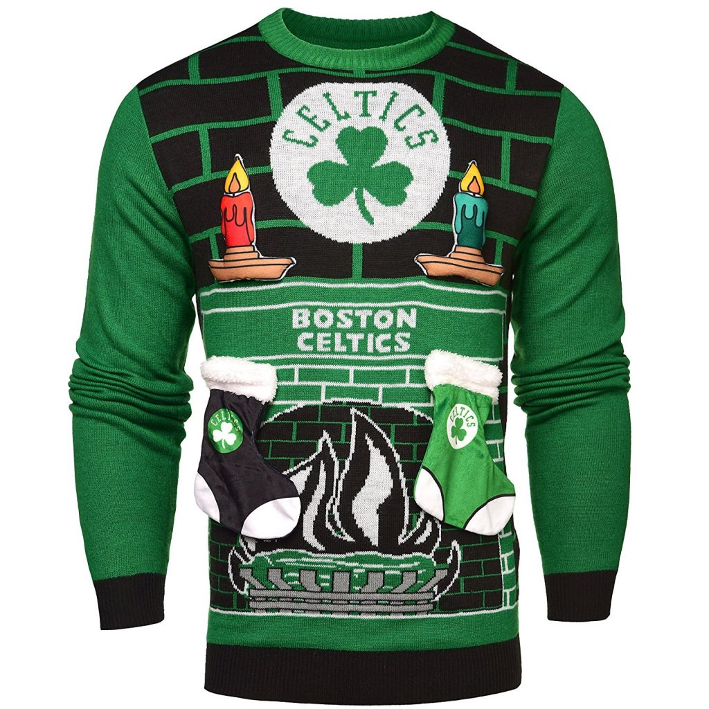 Boston Celtics Ugly Christmas Sweater