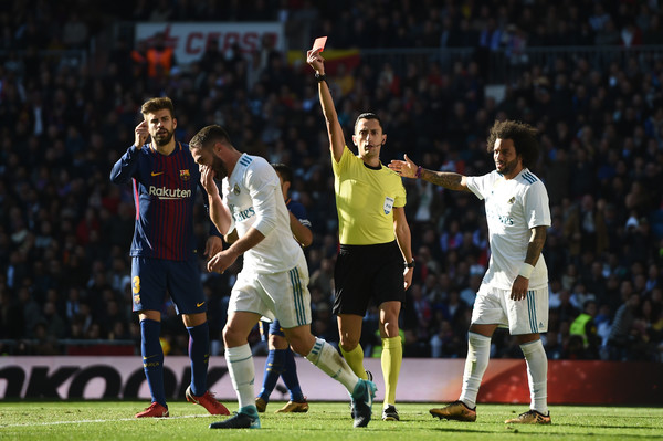 Carvajal Red Card
