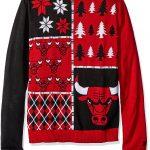 Chicago Bulls ugly Christmas sweater