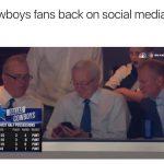 Cowboys Fans back on Social Media