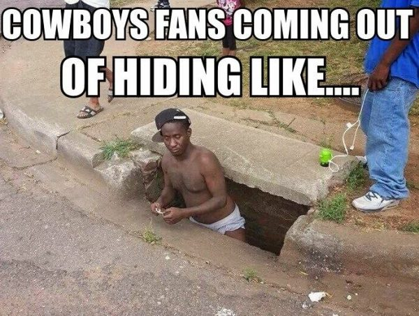 Cowboys fans coming out of hiding