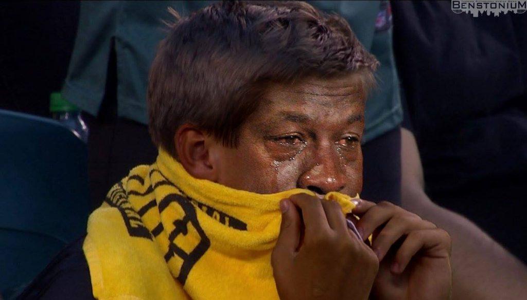 Crying Jordan Steelers Fan