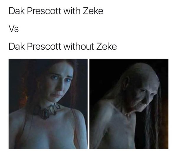 Dak Without Zeke