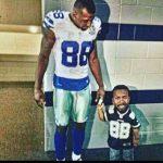 Dez Bryant taking a kid to school