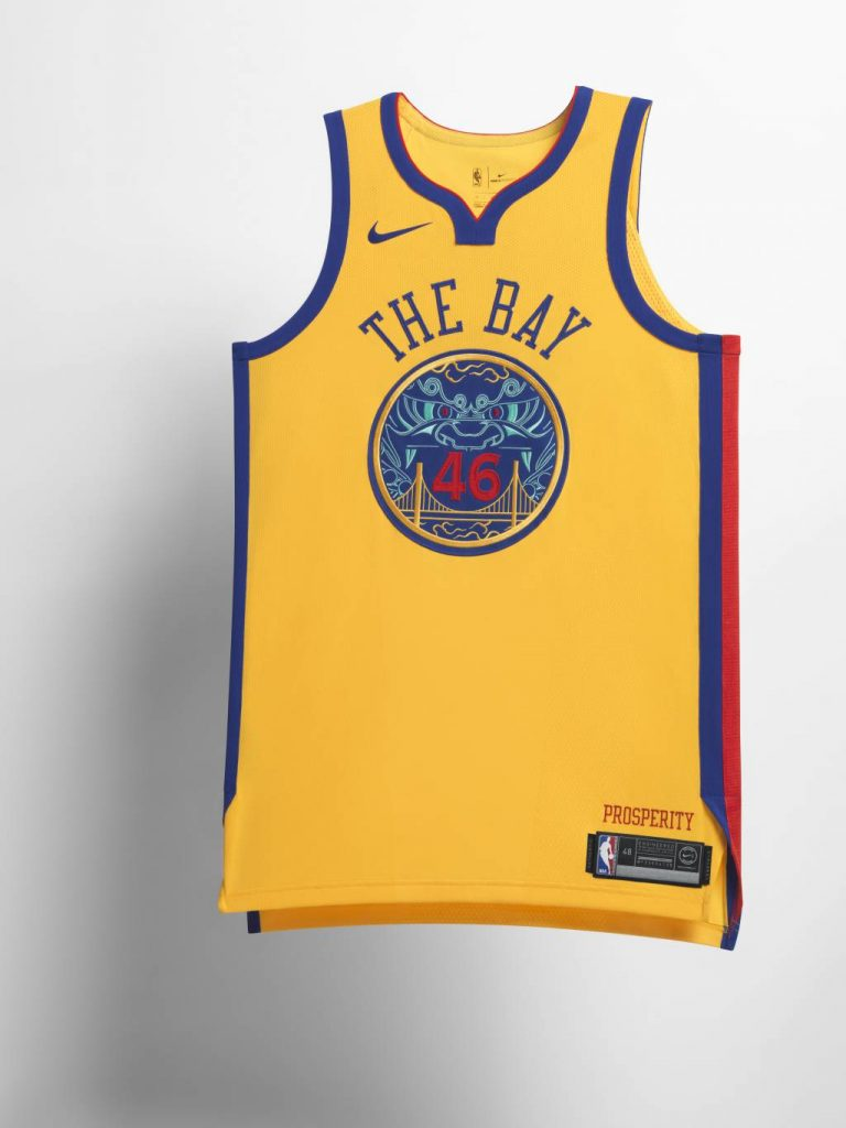 Golden State Warriors City Edition Jersey
