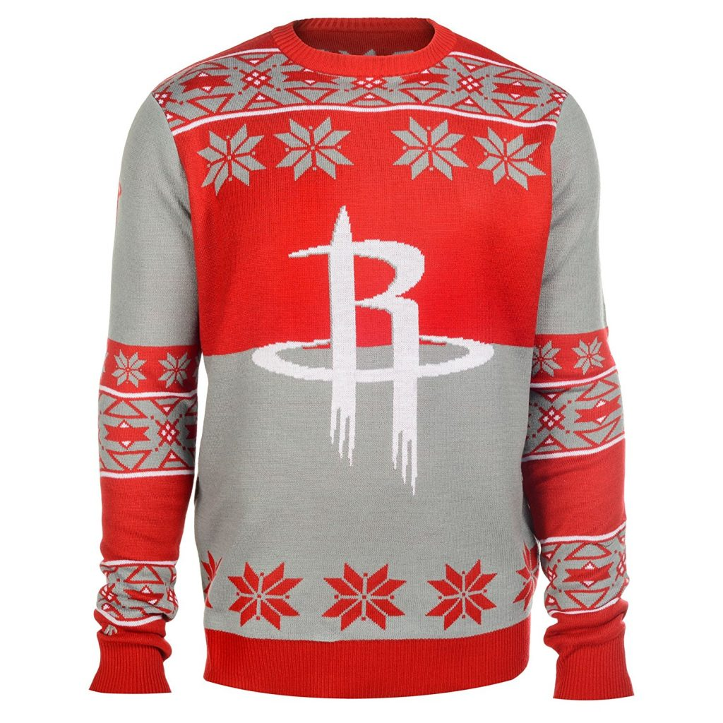 Houston Rockets Ugly Christmas Sweater