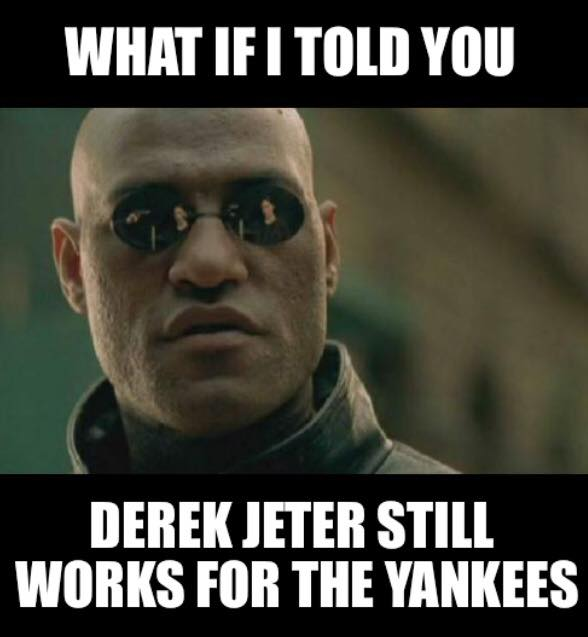 Jeter Still Works for the Yankees