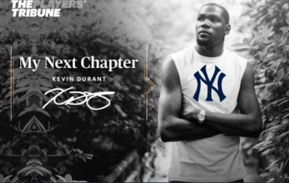 Kevin Durant my Next Chapter