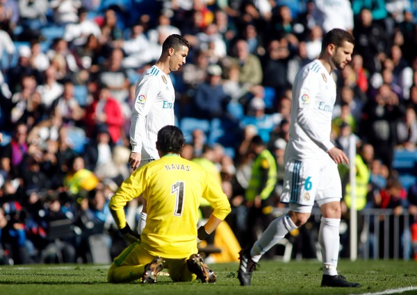 Keylor Navas Defeated