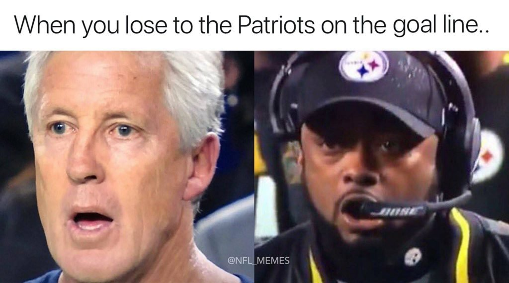 Losing to the Patriots