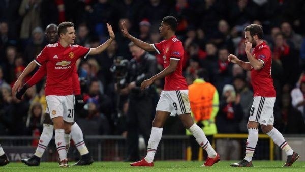 Manchester United beat CSKA