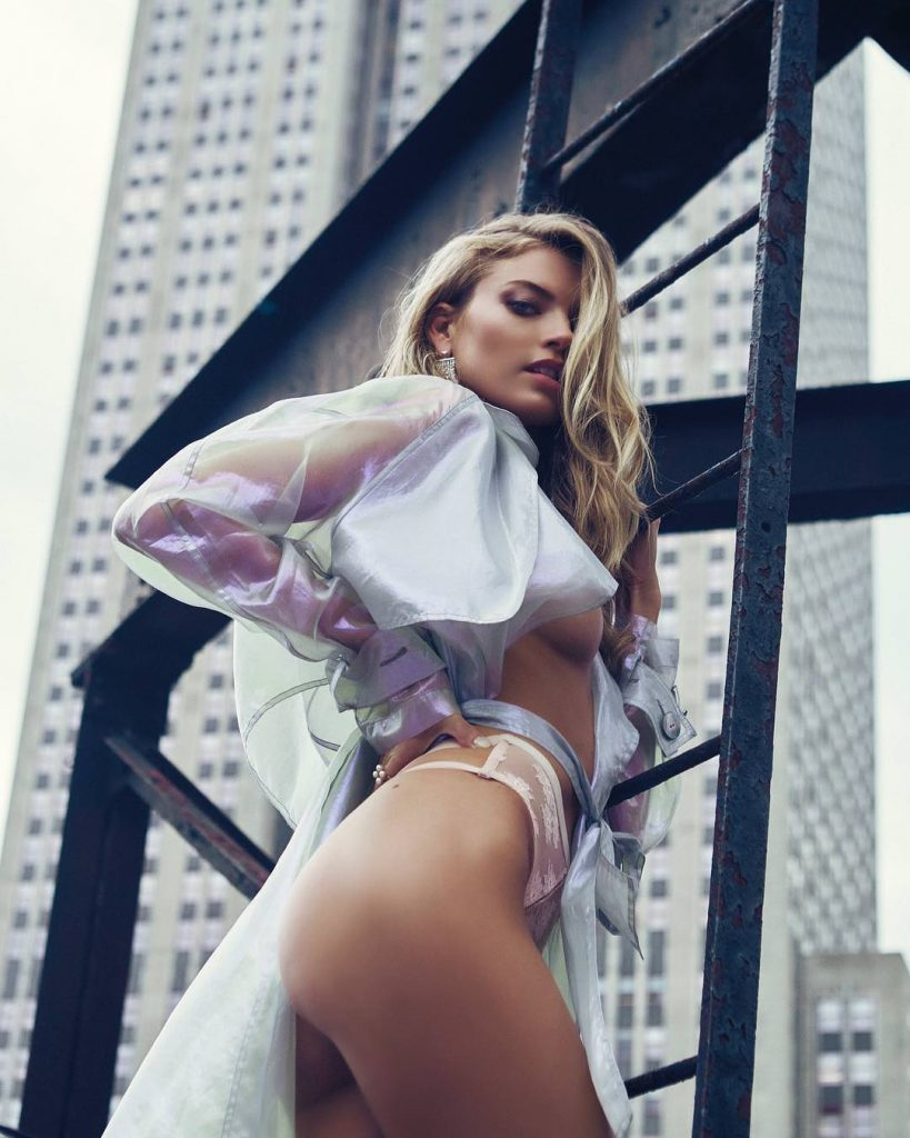 Martha Hunt Ladder