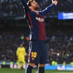 Messi Gloats at the Bernabeu