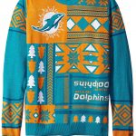Miami Dolphins Ugly Christmas Sweater