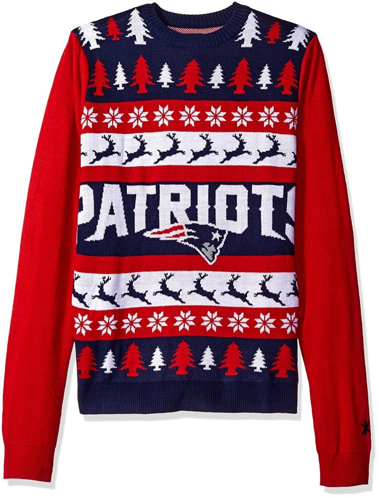 New England Patriots Ugly Christmas Sweater