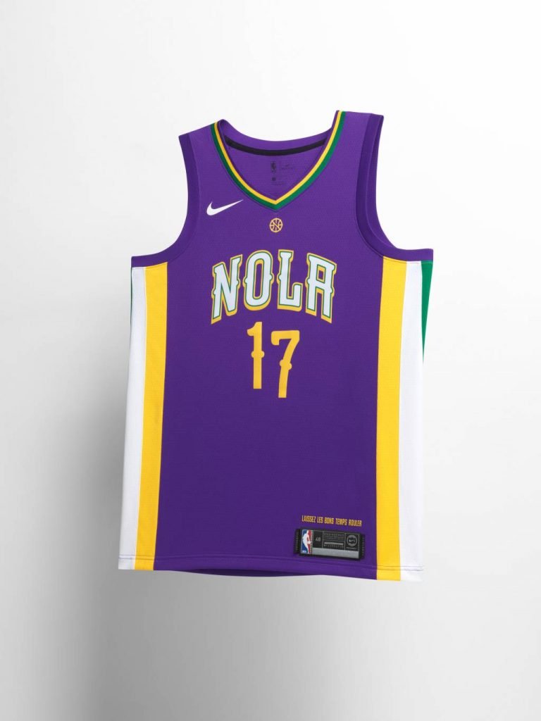 New Orleans Pelicans City Edition Jersey
