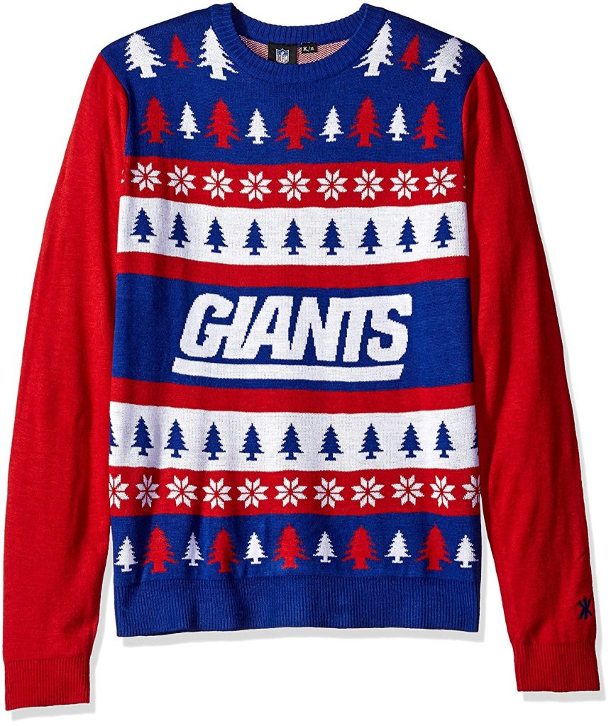 New York Giants Ugly Christmas Sweater