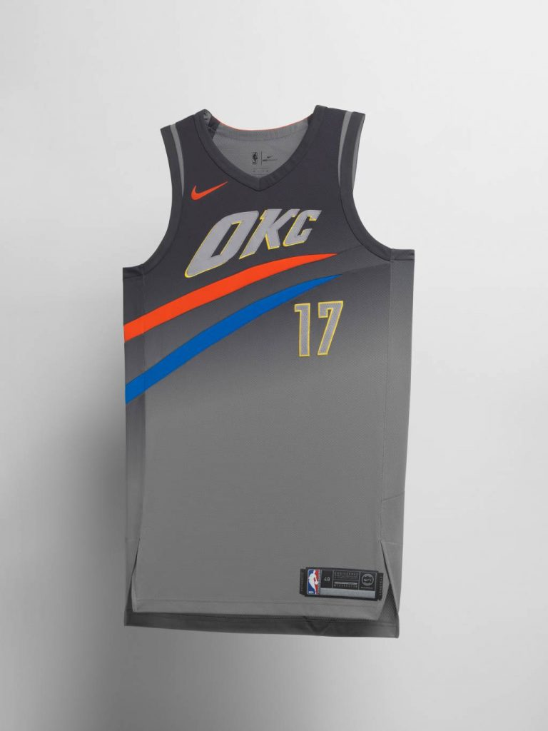 Oklahoma City Thunder City Edition Jersey