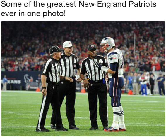 14 Best Memes Of The Refs Saving The New England Patriots Against