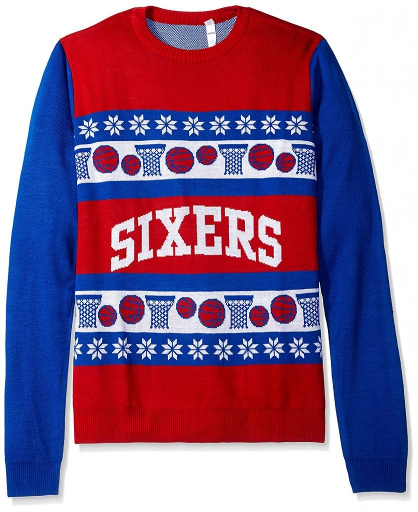 Philadelphia 76ers Ugly Christmas Sweater