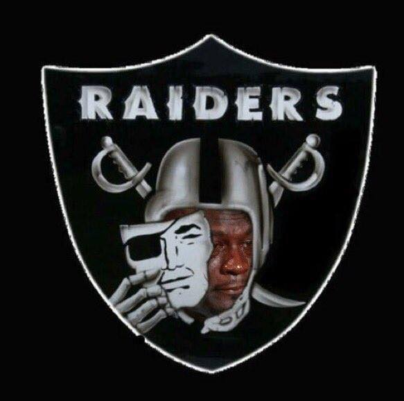 Raiders Logo Crying Jordan