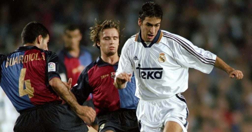 Raul vs Barcelona