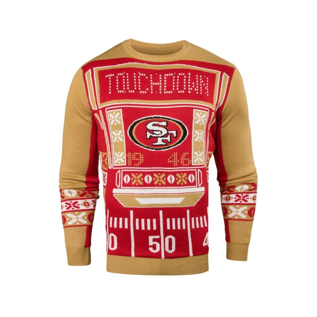 San Francisco 49ers Ugly Christmas Sweater