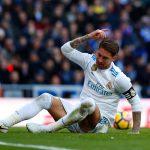 Sergio Ramos Frustration
