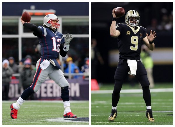 Tom Brady, Drew Brees