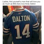 Bills Love Dalton