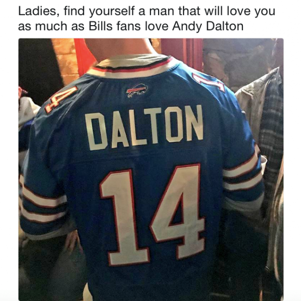 Bills Love Dalton