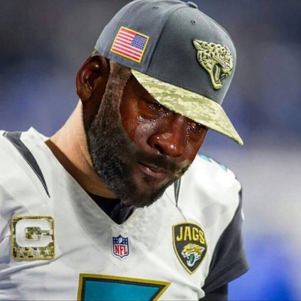 Blake Bortles Crying Jordan