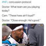 Cam Concussion Protocol