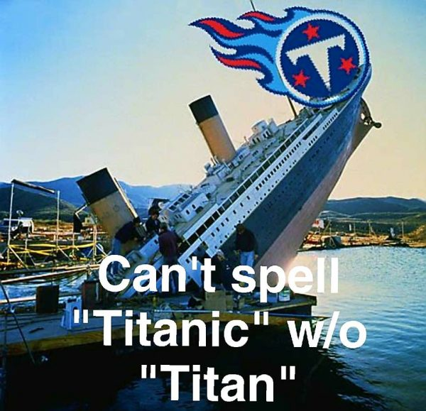 Can't Spell Titanic