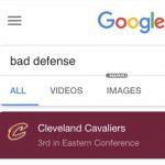Cavaliers Bad Defense Meme