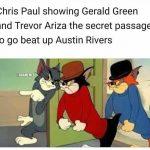 Chris Paul Sneaking