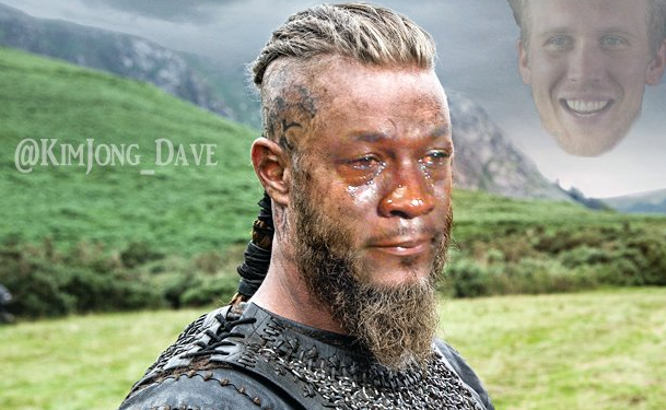 Crying Vikings Ragnar