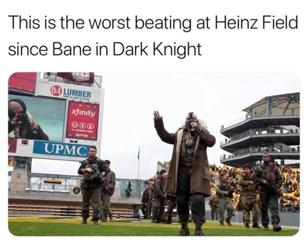 Dark Knight Heinz Field