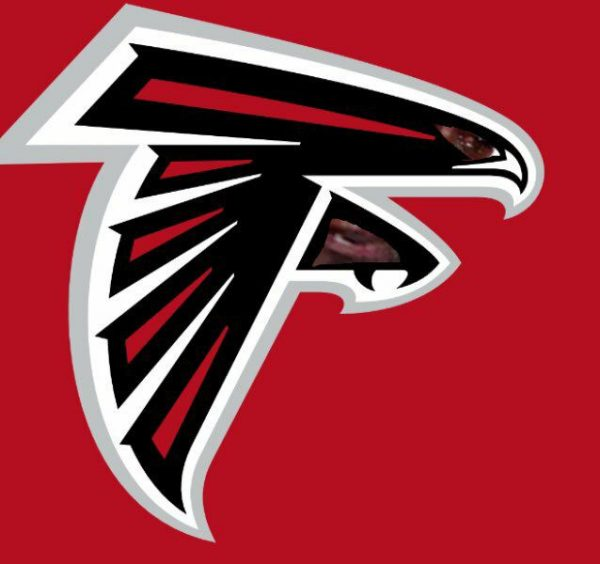 Falcons Logo Crying Jordan