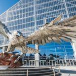 Falcons Statue Crying Jordan