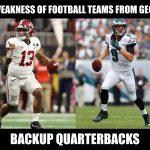 Falcons Weakness